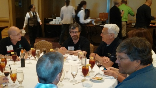 Meals and other social activities are great ways to meet new friends and discuss techniques and tips.