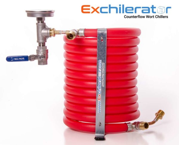 Maxx Exchilerator wort chiller used for my cleaning experiment